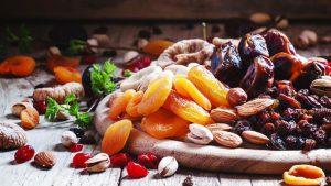 فروش عمده انواع میوه خشک شده