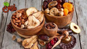 تولید میوه خشک