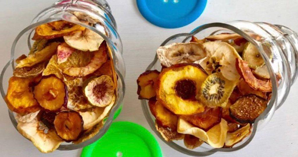 بسته بندی میوه خشک