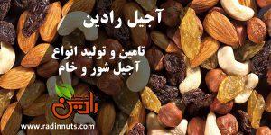 انواع آجیل عید نوروز