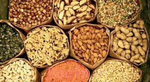انواع محصولات خشکبار